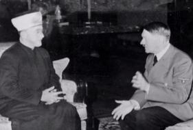 Husseini con Hitler