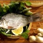 Receta: Pescado con Jengibre al Vapor