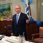 Fotos del cumpleaños de Netanyahu