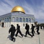 """Policía israelí en alerta máxima al abrir el Monte del Templo en un """"Día de furia"""""""