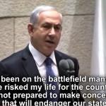 "Netanyahu responde al calificativo de ""Cobarde"""