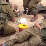 Tropas israelíes bajo fuego en la frontera con Egipto