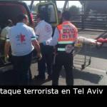 Un palestino apuñaló a un soldado en Tel Aviv