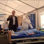 Israel envió hospitales móviles a los países más afectados por el Ebóla