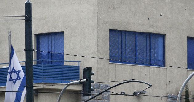 Disparan-contra-Embajada-Israel-Grecia