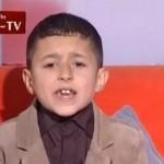"""Niño en la TV palestina: Los hijos de Sión son """"simios bárbaros"""""""