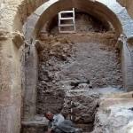 Hallan una entrada monumental al palacio de Herodes