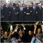 ¿Que hacía Abu Mazen en una manifestación contra el terrorismo islámico?