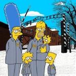 Convierten a los Simpson en prisioneros de Auschwitz por el 70 aniversario del Holocausto