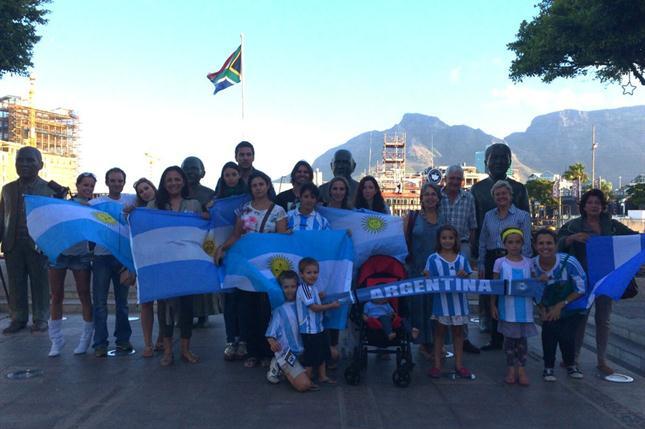 argentinos en Sudáfrica