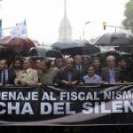 """Cientos de miles de argentinos homenajearon la memoria del Fiscal Alberto Nisman Z""""L"""