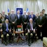 Presidente de Israel recibió embajadores latinoamericanos