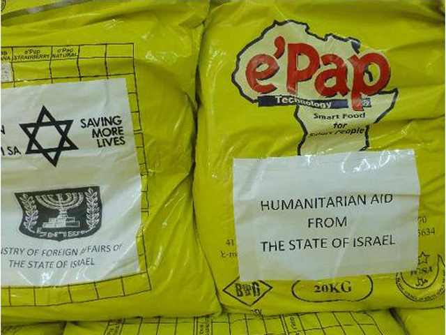 Life-saving concentrated food rations to Madagascar