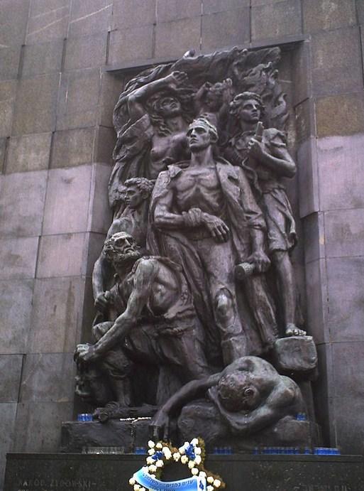 Monumento a los Héroes del Levantamiento del Gueto de Varsovia