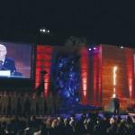 """Rivlin en Iom HaShoa: """"El viaje judío comienza en Israel"""""""