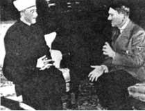 El Amin al Husseini reunido con Hitler.