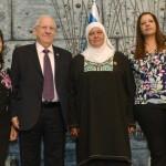 El presidente Rivlin y su esposa honran a familias de donantes de órganos con una ceremonia