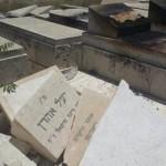 Árabes incendiaron lápidas del cementerio Monte de los Olivos en Jerusalem