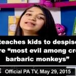 """Programa infantil de televisión oficial palestina califica a los judíos de """"la peor de las creaciones"""""""