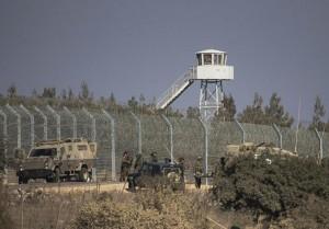 Frontera entre Israel y Siria en los Altos del Golán