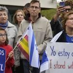 Marchas en apoyo a Israel en Europa