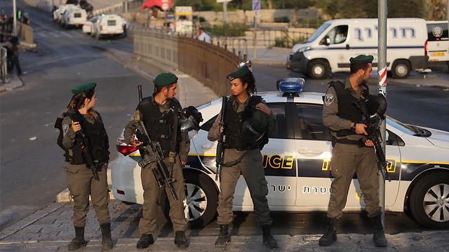 La policía israelí se desplegó en las zonas más conflictivas