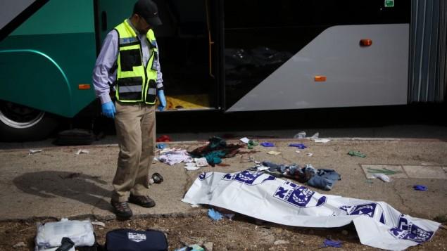 Víctima israelí asesinada en un ataque terrorista en Jerusalen este 13 de Octubre.