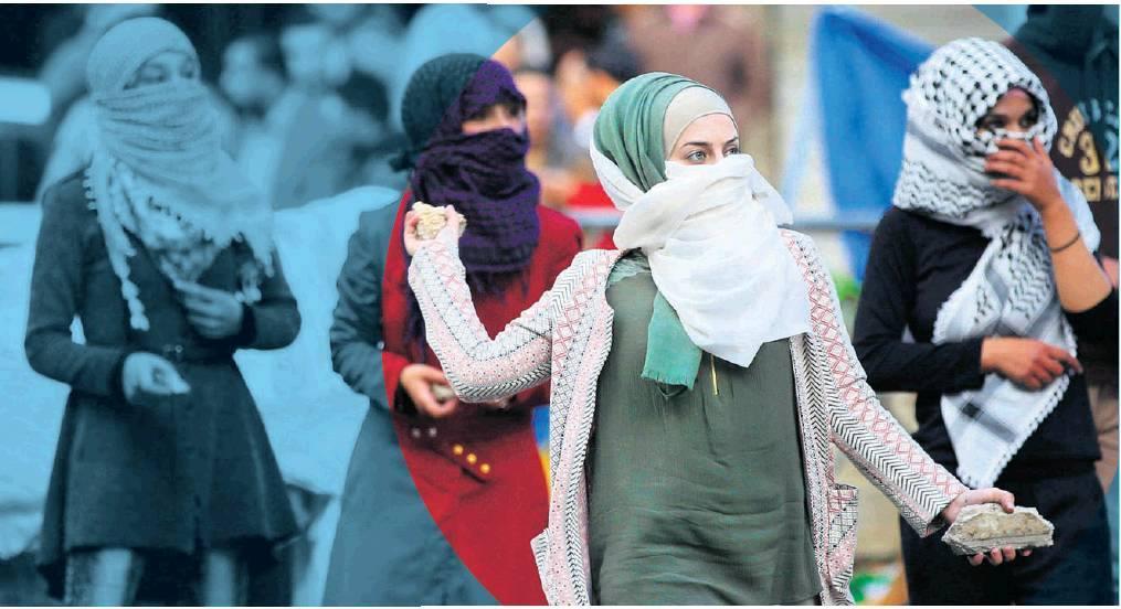Las mujeres palestinas no son ajenas a la violencia