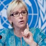 Suecia asocia la masacre de París con la »desesperación palestina»