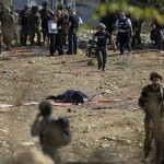 La Autoridad Palestina acusó a Israel de plantar cuchillos cerca de los cuerpos de terroristas palestinos