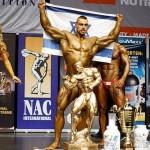 Un israelí gana por primera vez el campeonato de fisicoculturismo