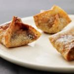 Receta (2) para Jánuca: Wantanes de chocolate y frambuesa