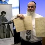 Ondas gravitacionales: Manuscritos originales de Albert Einstein presentados en Jerusalem