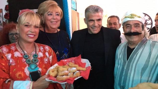 Lapid, uno de los líderes  de la opsoción
