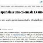 El País destaca la condición de «colona» de una niña salvajemente asesinada en Israel, pero no la de «terrorista» de su asesino.