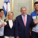 Recibieron en Israel a atletas olímpicos cómo heroes