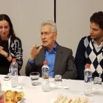 """Marcos Aguinis en el CJL: """"El antisemitismo se disfraza detrás del odio a Israel"""""""