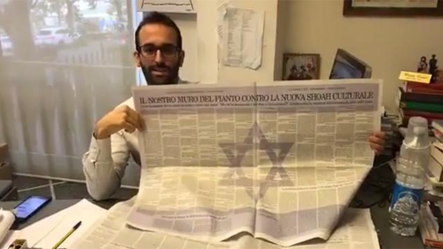 diario-italiano-bandera-israel