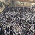 Masiva concurrencia al Kotel para la tradicional Bendición de los Sacerdotes