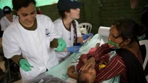 Bebé en Nepal