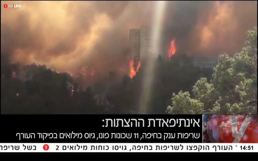 incendios-israel