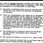 CIA: Los británicos alentaron a los árabes a oponerse a la partición