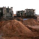 Israel construye un muro subterráneo alrededor de Gaza