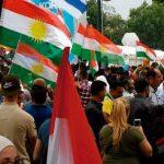 Más de 20,000 kurdos se manifiestan a favor de su independencia, izan banderas israelíes en solidaridad con el Estado Judío