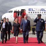 Viceministra Patti Londoño recibió al Primer Ministro de Israel Benjamín Netanyahu, quien llegó a Colombia en visita de trabajo