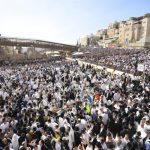 Decenas de miles de judíos participan en la Bendición Sacerdotal en Jerusalén