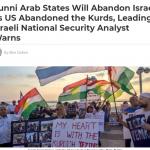 Opinión: Los estados árabes sunitas abandonarán a Israel como Estados Unidos abandonó a los kurdos, advierte el principal analista de seguridad nacional de Israel