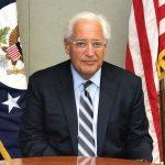 """Palestinos piden poner al embajador estadounidense Friedman en la """"lista mundial de terroristas"""""""