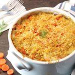 Gastronomía israelí. Receta de gratinado de papa y zanahoria para Pesaj