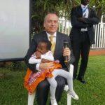 Niña de Camerún operada del corazón a través de ONG israelí